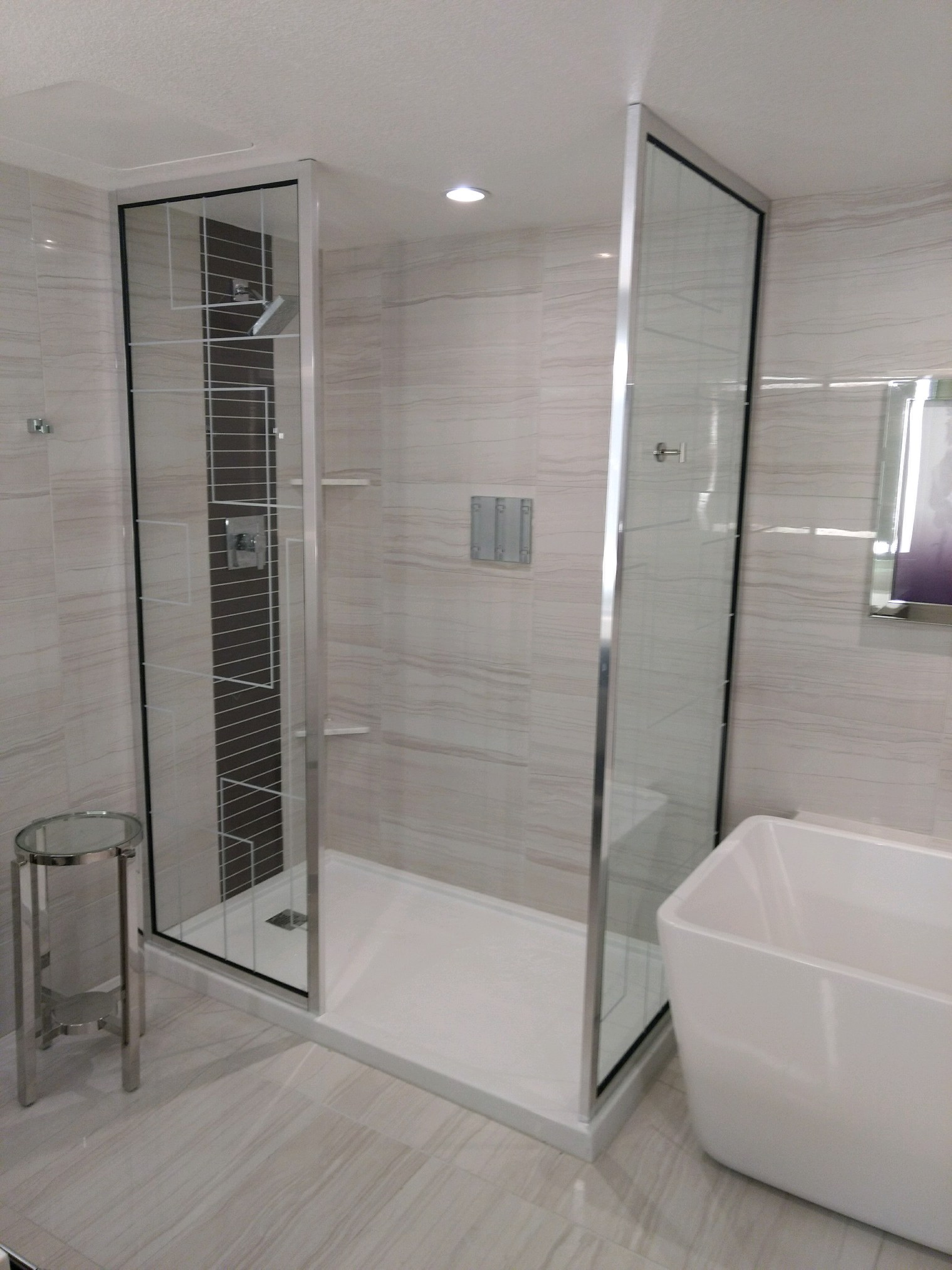 Custom Glass Shower Doors Enclosures Glasswerks La Ca Nv